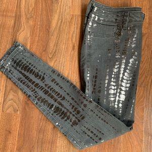 Siwy Metallic Skinny Jeans